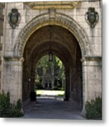 Archway To Education Metal Print