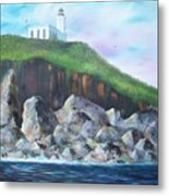 Arecibo Lighthouse Metal Print