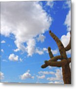 Arizona Blue Sky Metal Print