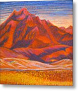 Arizona Mountains At Sunset Metal Print