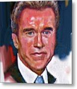 Arnold Schwarzenegger Metal Print