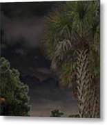 Around Midnight Metal Print