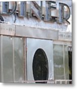 Art Deco Diner Metal Print