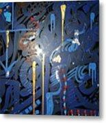 Art Fusing 2 Metal Print