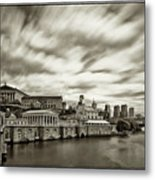 Art Museum Time Exposer Metal Print by Jack Paolini