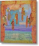 Ascension Of The Butterfly Women Metal Print by Roberta Baker