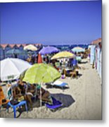 At Mondello Beach - Sicily Metal Print
