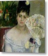 At The Ball Metal Print by Berthe Morisot