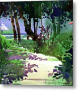 At The Hale Koa Metal Print