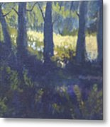 At Woods Edge Metal Print