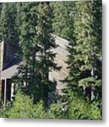 Aubrey Watzek Lodge Metal Print