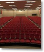 Auditorium Metal Print