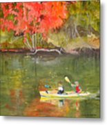 Augusta Canal Number Two Metal Print