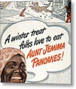 Aunt Jemima Ad, 1948 Metal Print