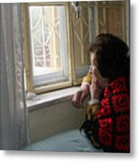 Aunt Leila - Watching Over The Neigbourhood Metal Print