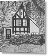 Aunt Vizy's House Metal Print