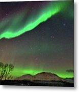Aurora Borealis Metal Print by John Hemmingsen