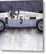 Auto Union 1936 Type C Metal Print