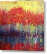 Autumn Bleed Metal Print