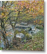 Autumn Comes To The Unami Creek Metal Print