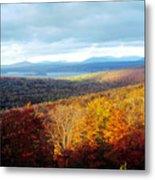 Autumn In Rangeley Metal Print