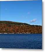Autumn In The Finger Lakes Metal Print