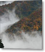 Autumn In The Mountains Metal Print