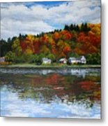 Autumn In Vermont  Metal Print