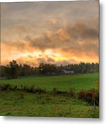 Autumn Morning Metal Print