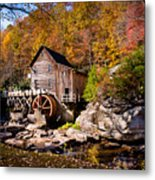 Autumn Morning In West Virginia Metal Print