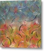 Autumn Swirl Metal Print