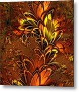 Autumnal Glow Metal Print