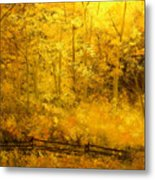 Autumn's Hidden Sanctuary IIi Metal Print