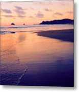 Awesome Zipolite Sunset 2 Metal Print