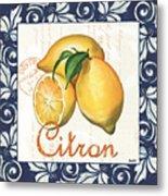 Azure Lemon 2 Metal Print by Debbie DeWitt