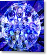 Azure Orb Of Midas Metal Print