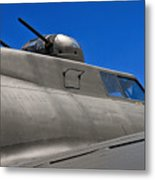 B-17 Top Guns Metal Print