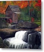 Babcock Mill Metal Print