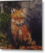 Babe In The Woods Metal Print
