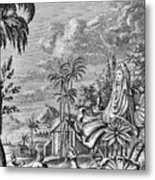 Babylon: Sun Worship Metal Print