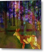 Back To The Forest Metal Print