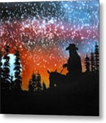 Back To The Ranch Metal Print