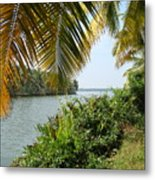 Backwaters Of Kerala-2 Metal Print