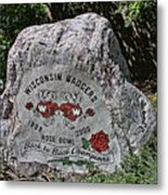 Badgers Rose Bowl Win 2000 Metal Print
