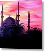 Baghdad Sunset Metal Print by Michael McKenzie