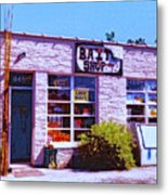 Bait Shop Metal Print