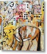 Balaams Donkey Sees The Angel 201762 Metal Print