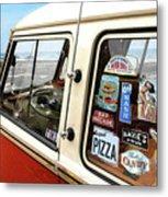 Balboa Bus Metal Print by Ron Regalado