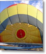 Balloon Inflation Metal Print