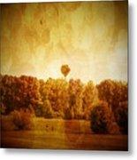 Balloon Nostalgia Metal Print by Michael Garyet